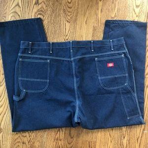 Dickies Mens 50x30 Blue Carpenter Utility Jeans